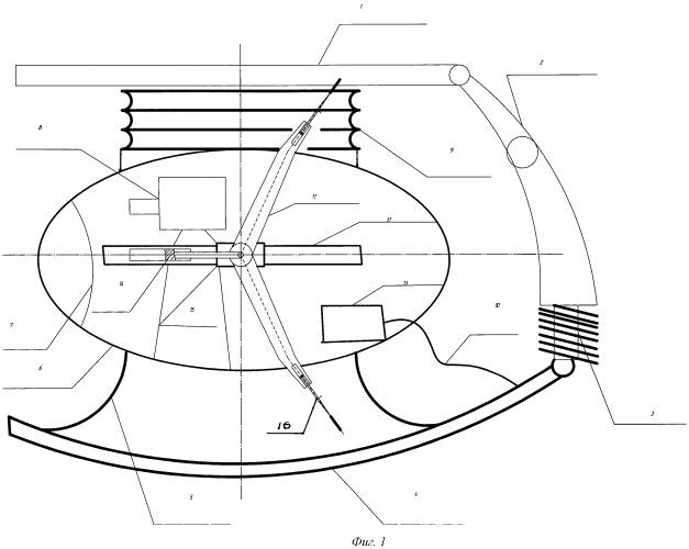Механизированная крепь для крутых и наклонных пластов