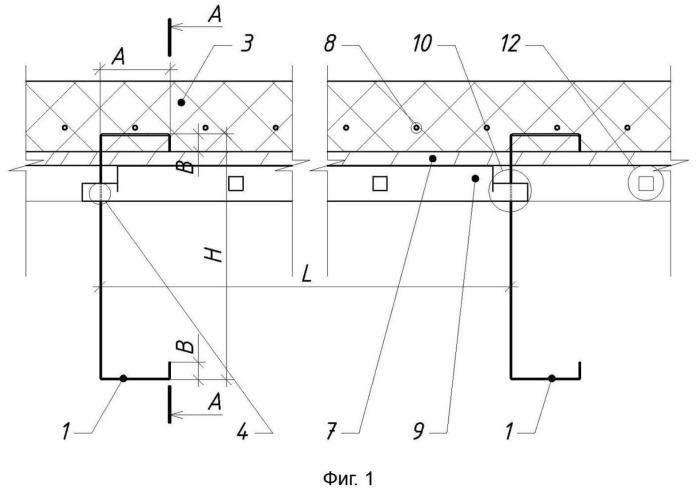 Сборно-монолитное междуэтажное перекрытие (варианты), способ его возведения и опалубочный элемент для возведения перекрытия