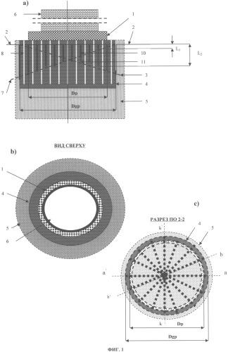 Способ устройства плитного фундамента резервуара с охлажденным продуктом в слабом вечномерзлом грунте