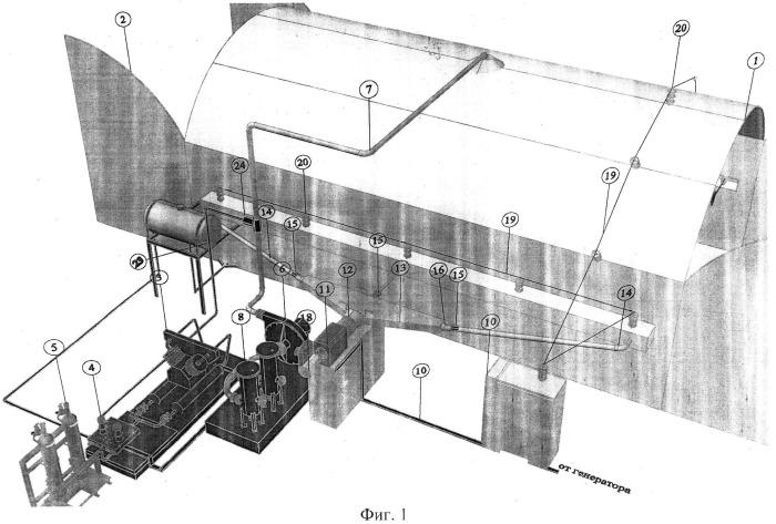 Мобильный комплекс специальной обработки образцов вооружения и военной техники