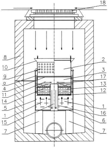 Устройство для очистки сточных вод, монтируемое в канализационном колодце