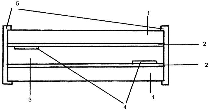 Способ изготовления гибкой электролюминисцентной панели