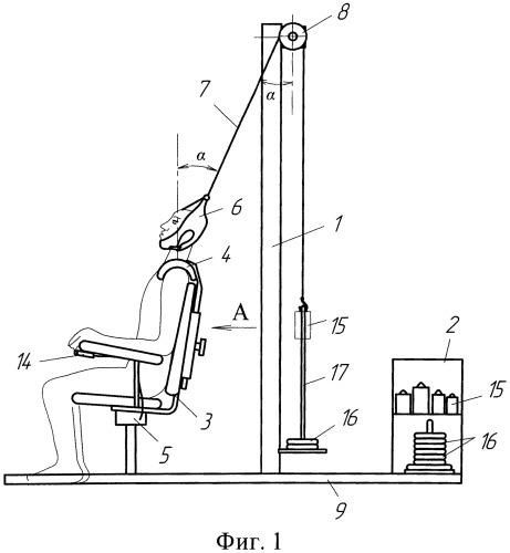 Способ восстановления мышечного корсета шейного отдела позвоночника и устройство для его осуществления