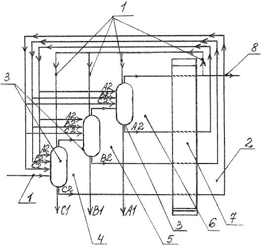 Самоадаптирующийся способ низкотемпературного разделения газовой смеси