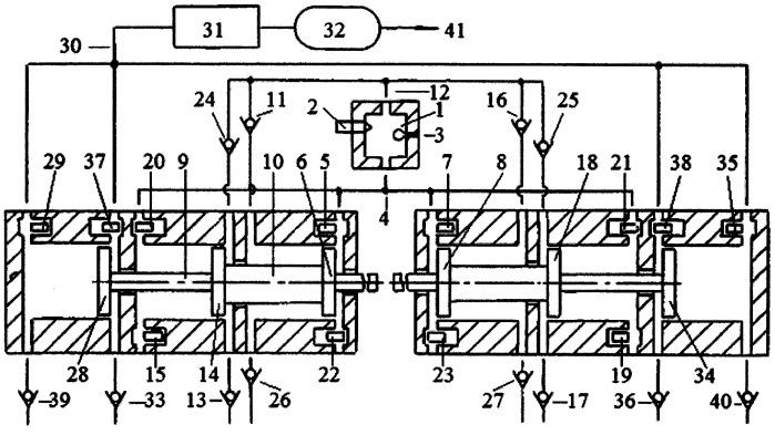 Способ оптимизации процесса расширения продуктов сгорания газораспределительными клапанами в цилиндрах свободнопоршневого с оппозитным движением поршней энергомодуля, соединенных с поршнями компрессора сжатия газов