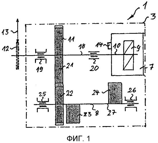 Модуль масляного насоса с корпусом модуля масляного насоса