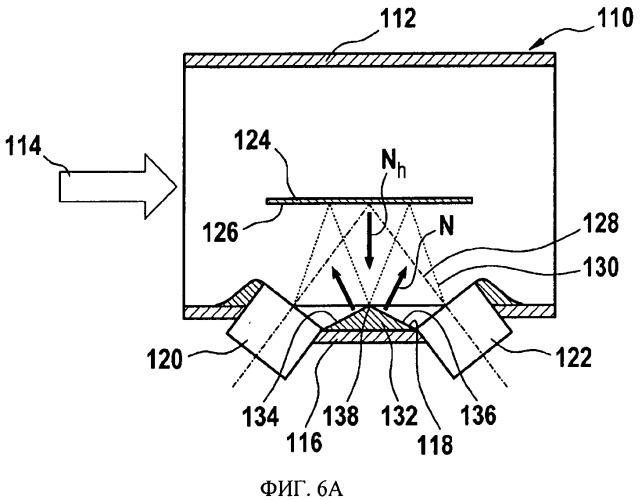 Ультразвуковой проточный датчик для применения в текучей среде
