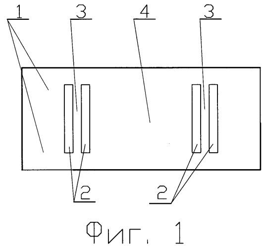 Наклеиваемый полупроводниковый тензорезисторный датчик деформаций для прочностных испытаний