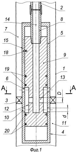 Устройство для отключения обводненной части пласта