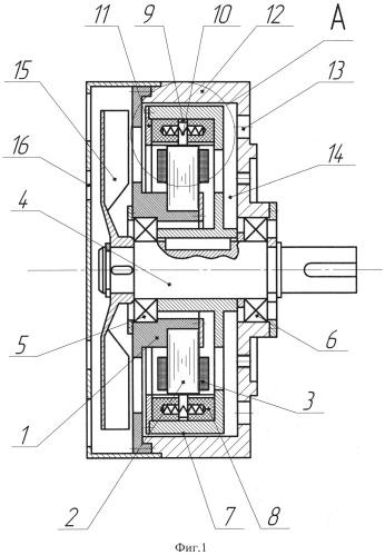 Синхронный генератор с возбуждением от постоянных магнитов
