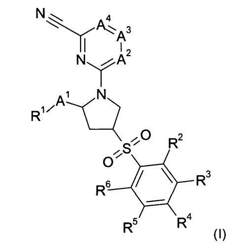 Производные пирролидина для применения в качестве ингибиторов катепсина