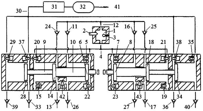 Способ оптимизации процесса расширения продуктов сгорания перепускными клапанами в цилиндрах свободнопоршневого с оппозитным движением поршней энергомодуля, соединенных с поршнями компрессора сжатия газов