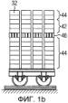 Структура и способ штабелирования штабелируемых тел, в частности силикатных кирпичей