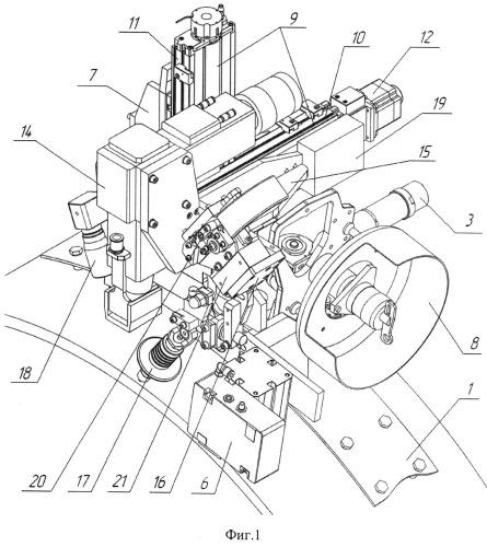 Модуль лазерно-дуговой для орбитальной сварки неповоротных кольцевых стыков труб