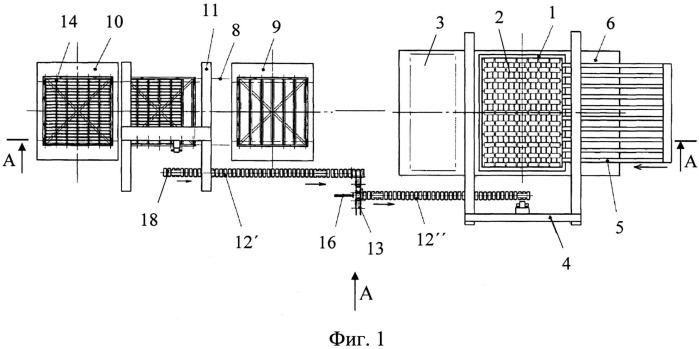 Шахтная печь для обжига керамических изделий