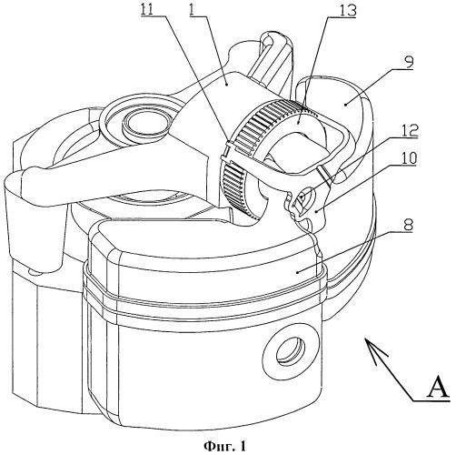Клапанно-поршневой узел герметичного холодильного компрессора