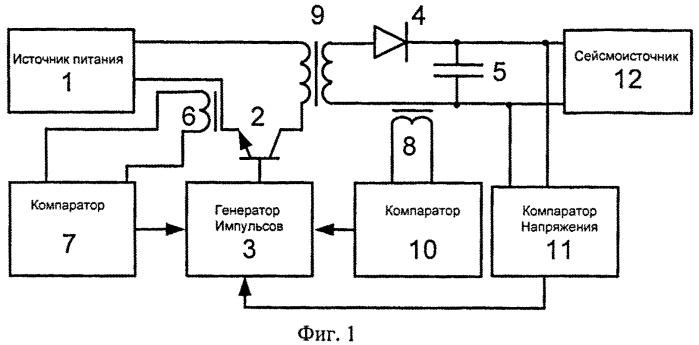 Устройство заряда накопительного конденсатора