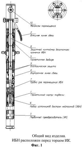 Устройство для регистрации ядерных излучений для систем управления и защиты ядерных реакторов подвеска ионизационной камеры