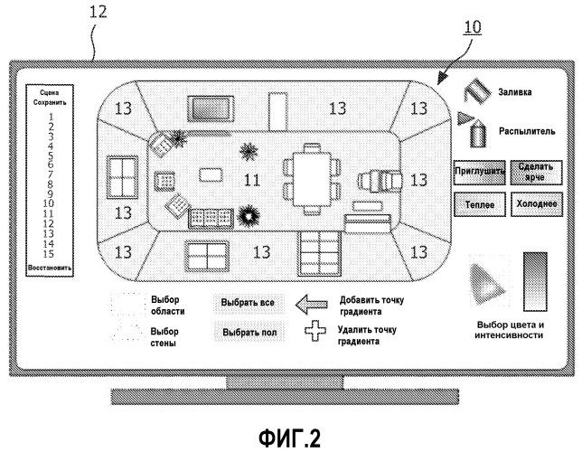 Способ и реализованное компьютером устройство для управления осветительной инфраструктурой