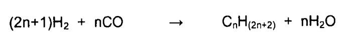 Способ конверсии синтез-газа с использованием кобальтового катализатора на первой стадии и рутениевого катализатора на носителе на второй стадии