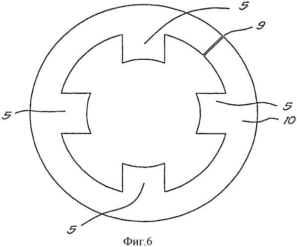 Шихтованный сердечник магнитного подшипника и способ конструирования такого шихтованного сердечника