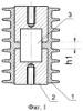 Электрический изолятор с армирующими стержнями