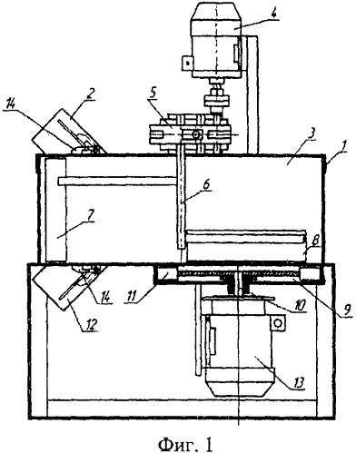 Способ подготовки материала для полусухого прессирования и устройство для его реализации