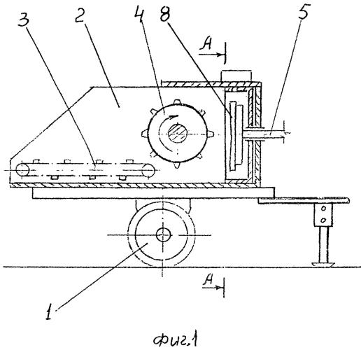 Измельчитель-смеситель-раздатчик рулонированного корма