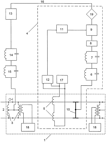 Устройство защиты рельсовых цепей и локомотивной аппаратуры алс от воздействия помех в тяговом токе электроподвижного состава (варианты)