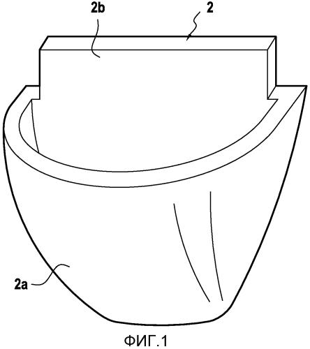 Защитный элемент для обувного изделия, в частности, балетной тапочки