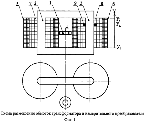 Устройство защиты однофазного трансформатора от замыканий в обмотках