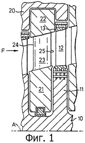Лопатка с аэродинамическим профилем и осевая турбомашина