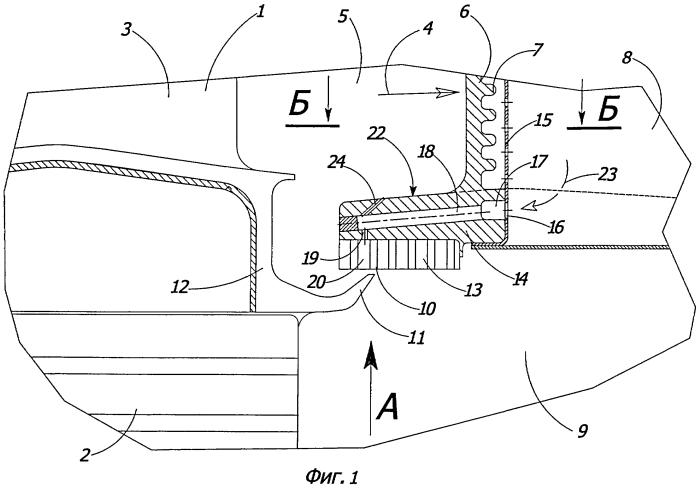 Высокотемпературная газовая турбина