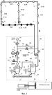 Способ и устройство в пневматической системе транспортировки материала