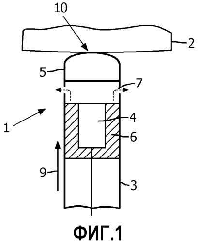 Медицинское ультразвуковое устройство с определением температуры на дистальном конце