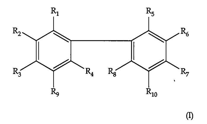 Галогенированные бифенолы в качестве антибактериальных средств