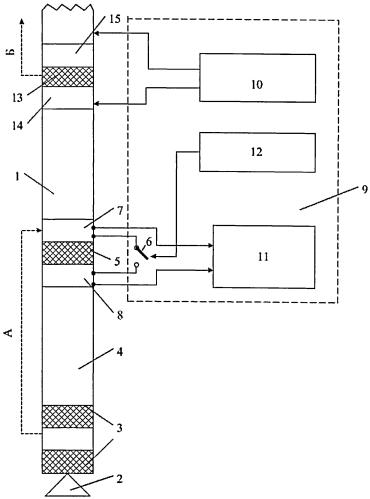 Забойная телеметрическая система с наддолотным модулем и способ беспроводной передачи ее данных на земную поверхность