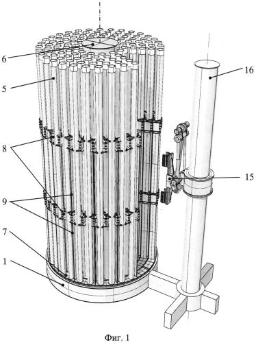 Система хранения и погрузки-разгрузки труб