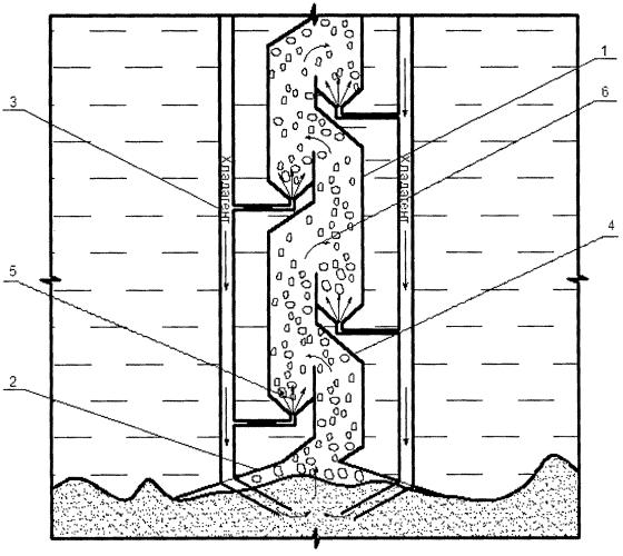 Устройство для добычи полезных ископаемых со дна континентального шельфа