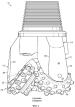 Износостойкий материал для внешней поверхности затылка ноги шарошечного бурового долота