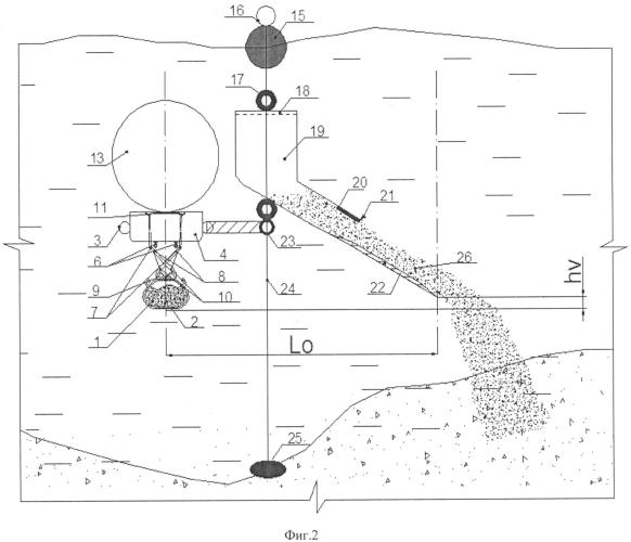 Автономное устройство для подъема полезных ископаемых со дна акватории