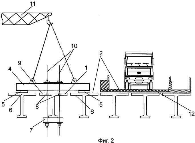 Способ демонтажа аварийной балки пролетного строения моста