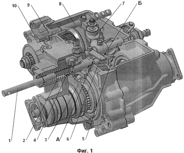 Механизм управления раздаточной коробкой передач