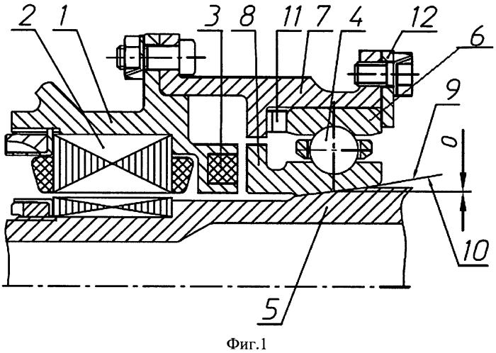 Магнитная опора ротора турбомашины