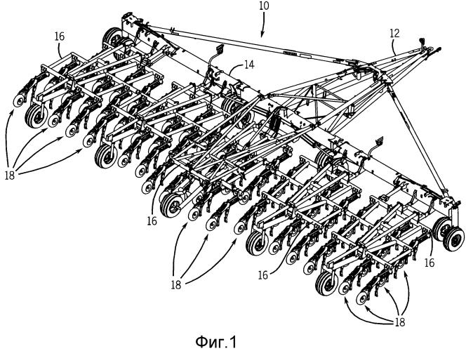 Механизм регулирования глубины сеялки