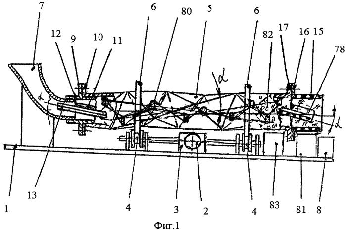 Станок для абразивной обработки деталей с отделением обработанных деталей от абразивных гранул и отходов обработки