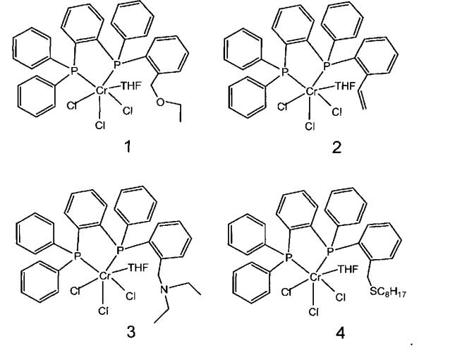 Каталитическая система тримеризации этилена в 1-гексен