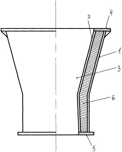 Металлокаменное полое изделие