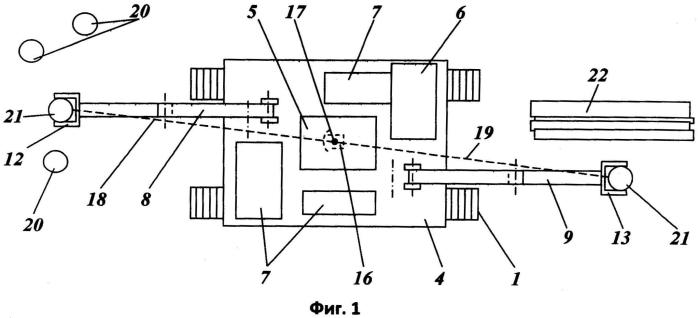 Способ и машина для формирования пачек деревьев