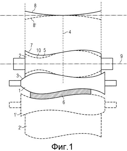 Прокатная клеть для изготовления катаной полосы